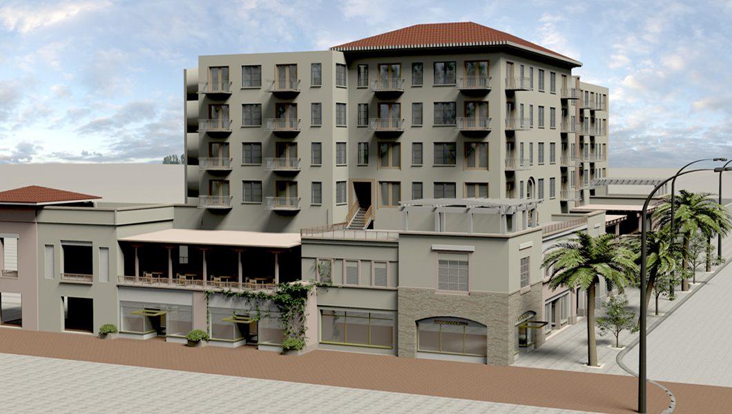 multi-level buildings in Pasadena