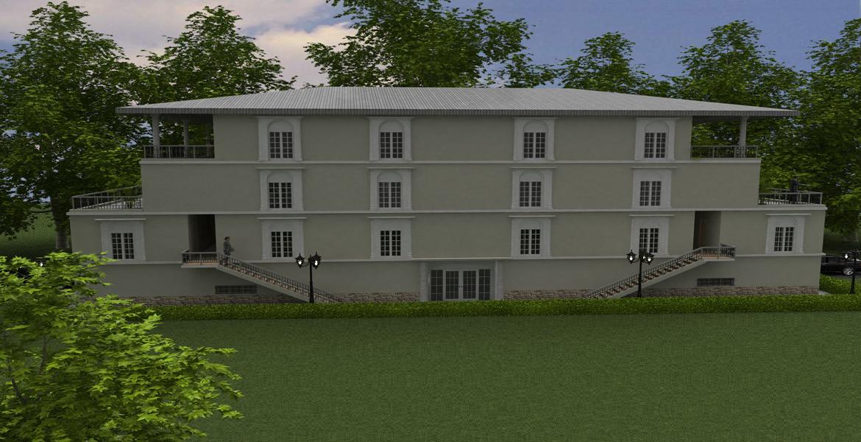 3 story home design in California-USA