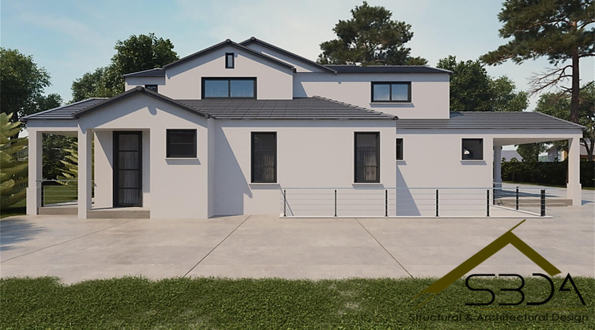 Traditional-style-home-in-California-farmhouse plans
