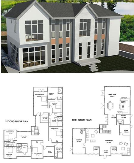 California home plans