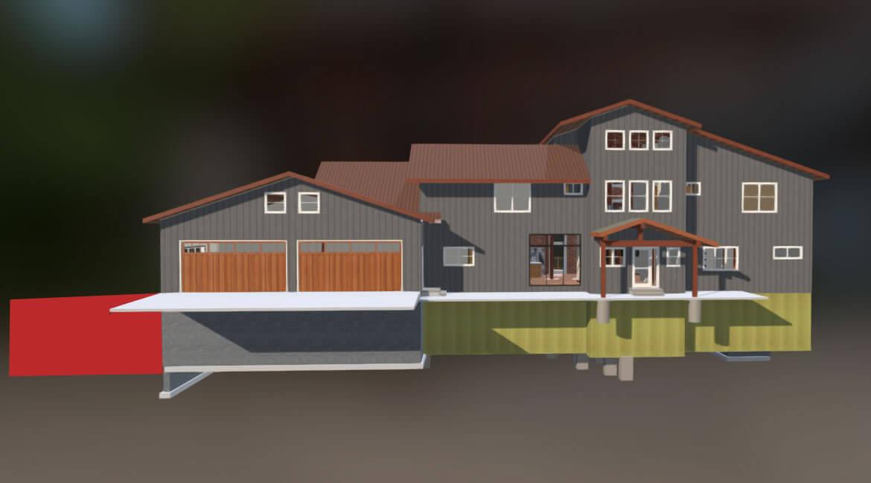 Retaining wall design - structural design - Montana