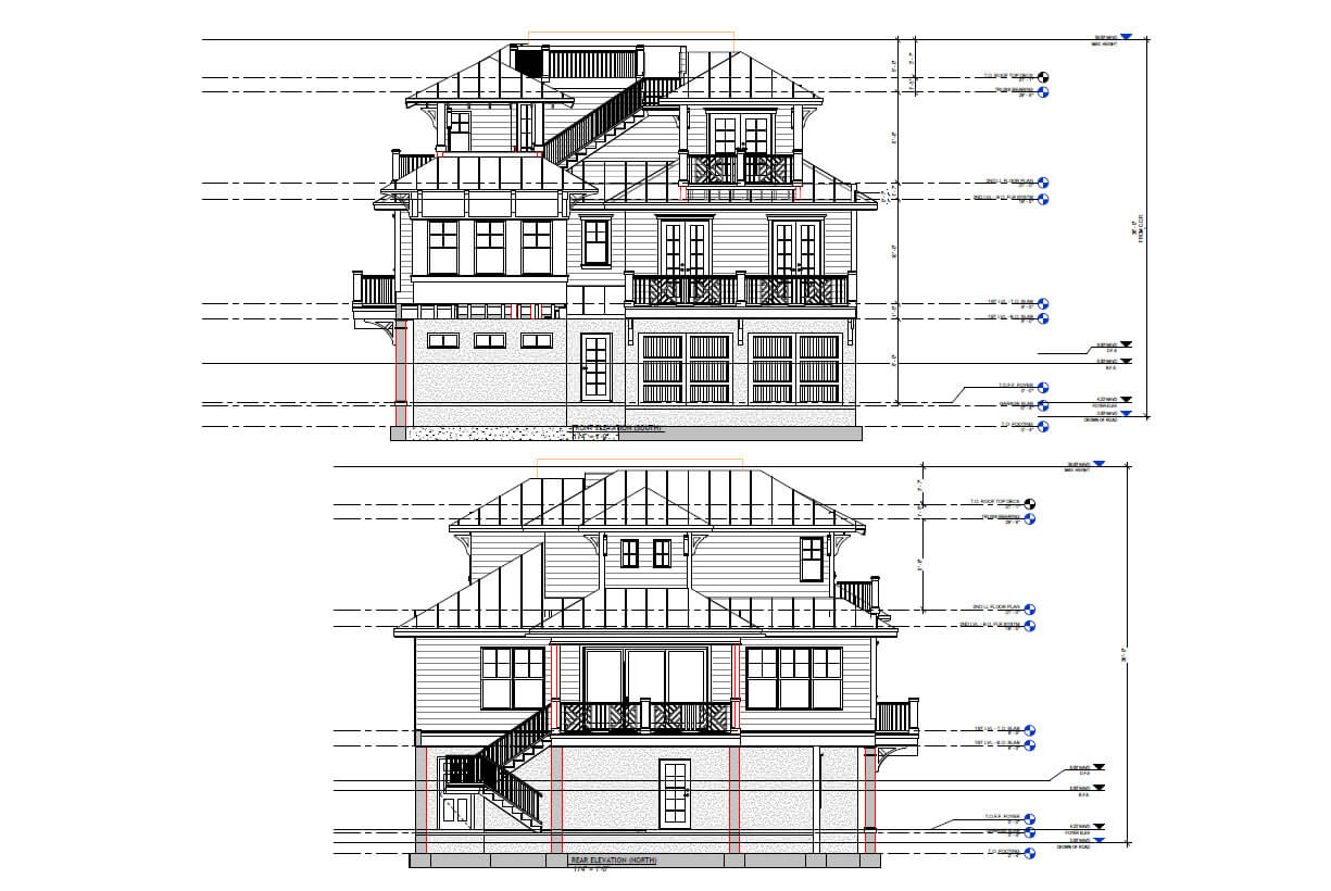 Wood structure home FL
