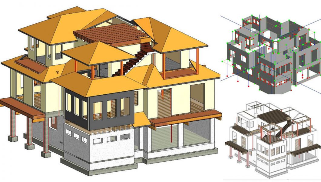 Residential Home Design Holmes Beach. Structural engineering