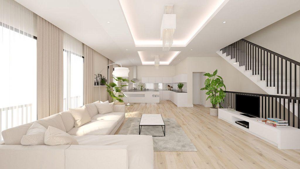 Multifamily design - Living interior design