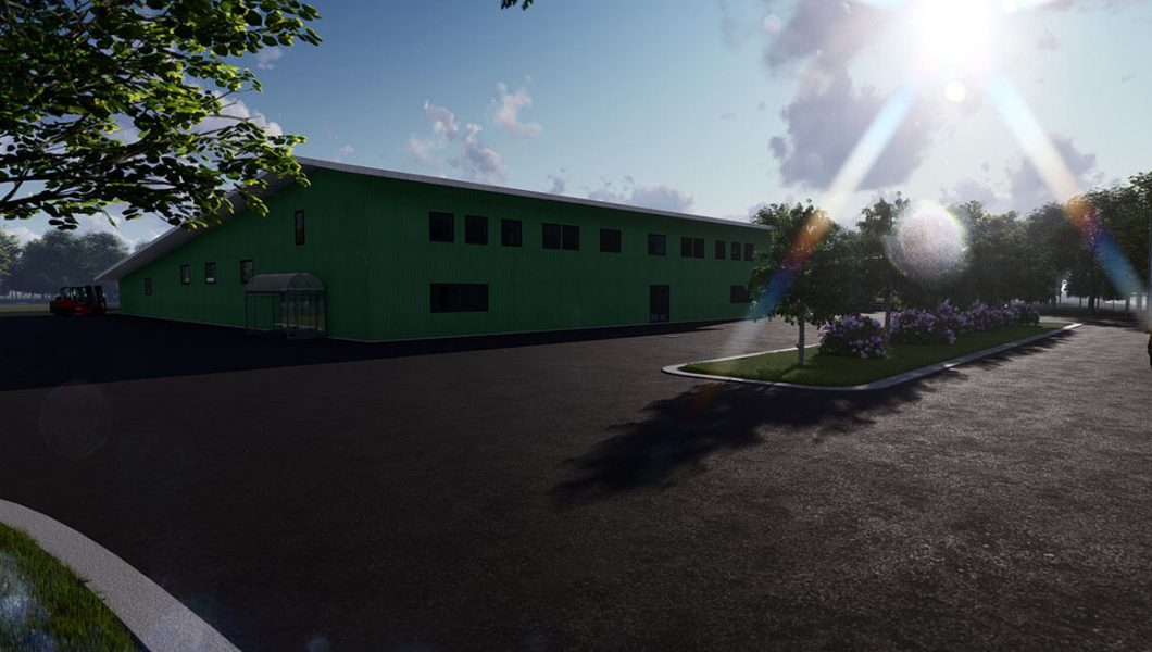 Agricultural Warehouse - Office and equipment storage in Hawaii