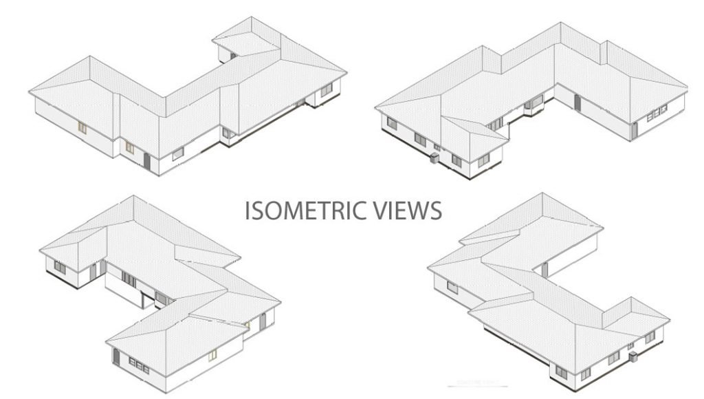Childcare design - ISOMETRIC VIEWS - Tracy - California