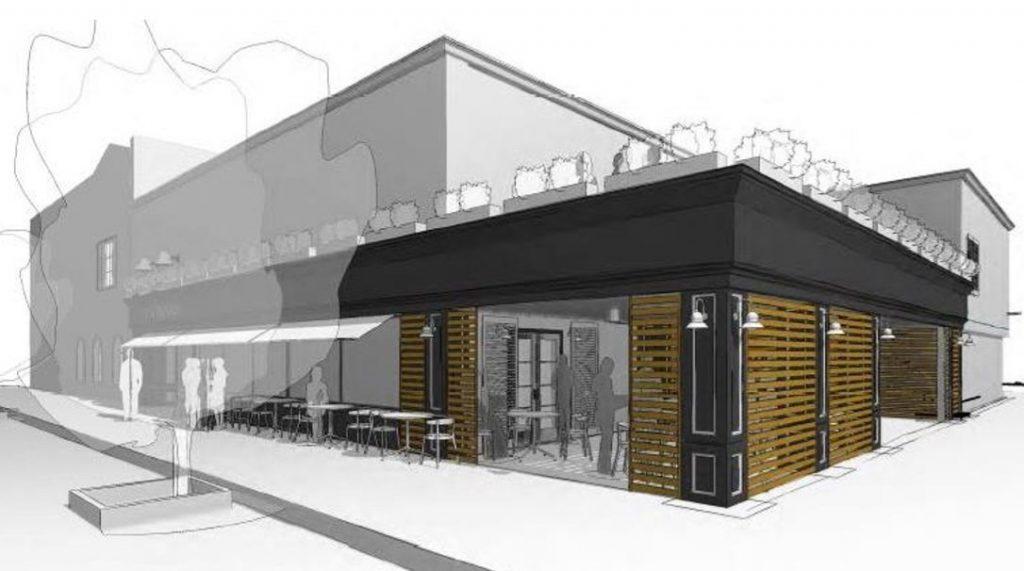 commercial tenant improvement - restaurant design