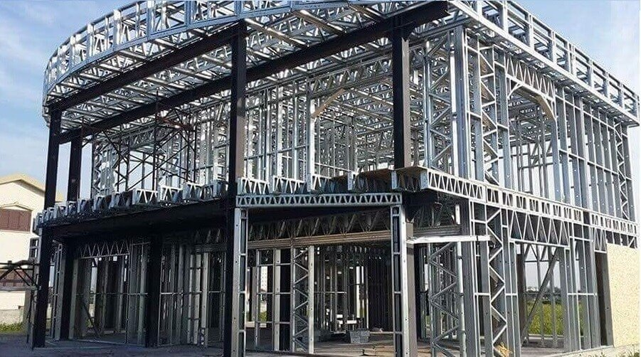 Using hot rolled steel sections in the light gauge (cold-formed) framing building