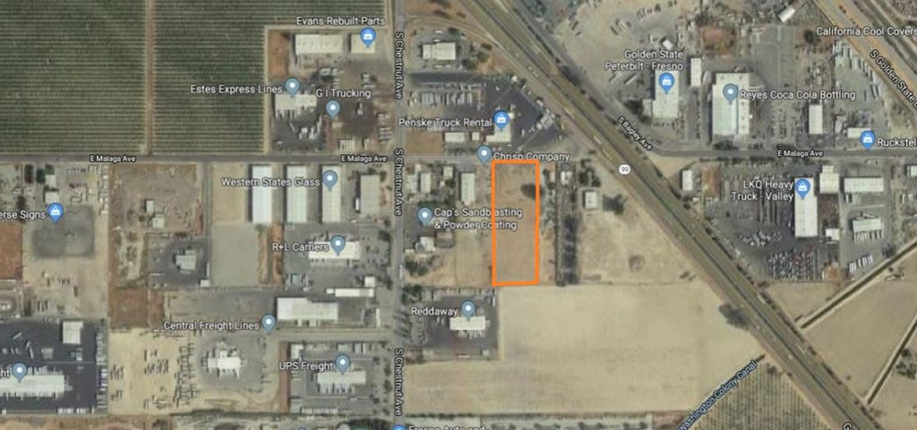 Garage Shop - Map - Fresno