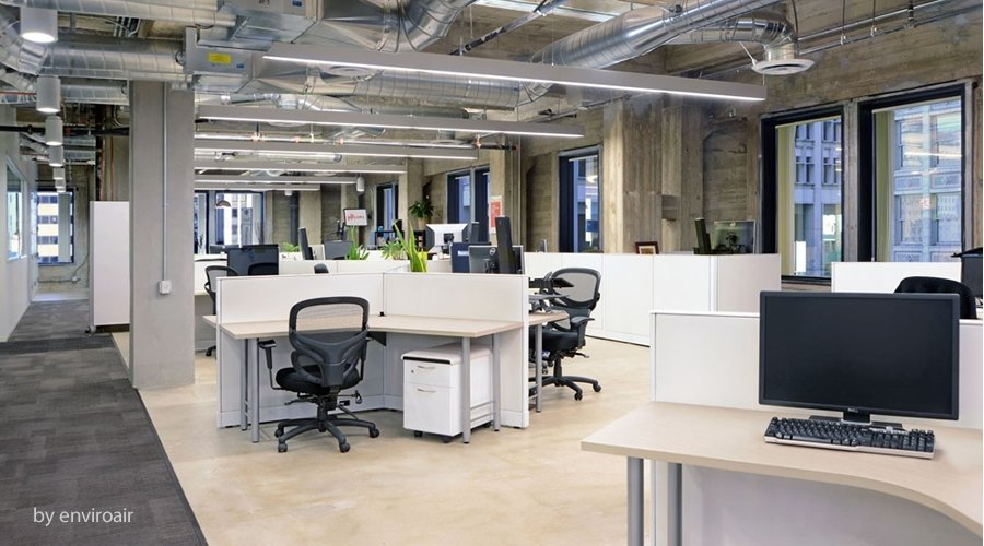 HVAC system design - modern office spaces