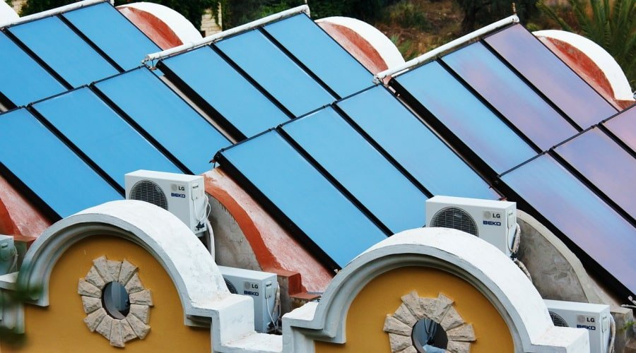 Solar Collectors and Heat Pumps