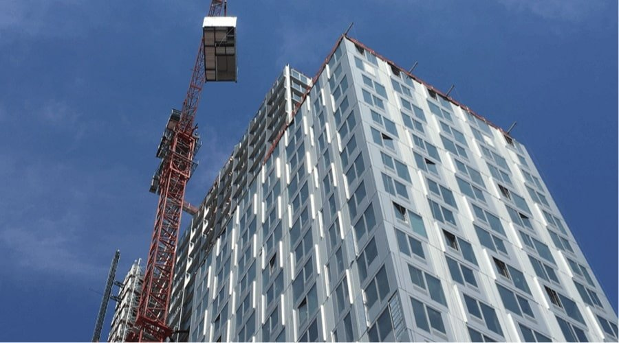 Steel-Framed Modular Construction